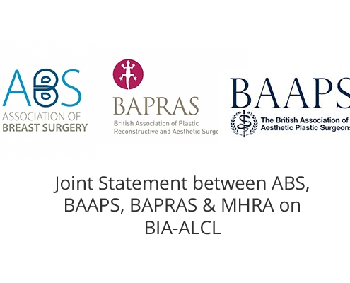 Advice on BIA-ALCL in breast implants